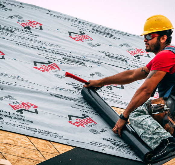 Superior Synthetic Roofing Underlayment